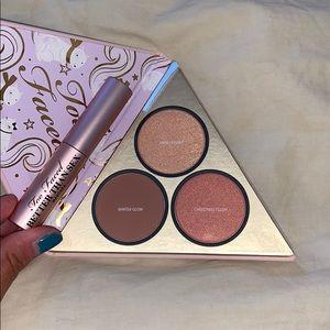Too faced mini mascara and blush/bronzer